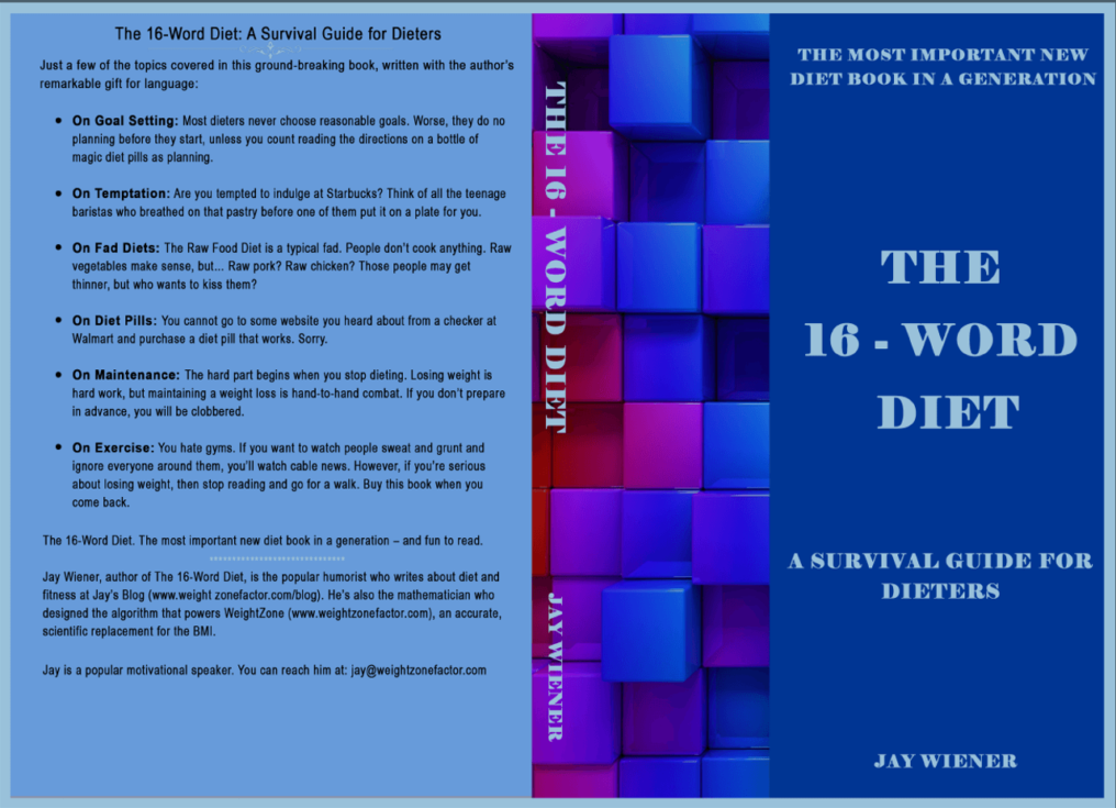 The 16-Word Diet - front and back cover
