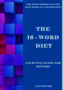 The 16-Word Diet - Front cover